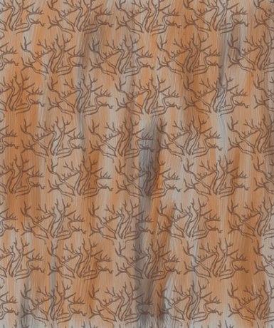 TREES | Entwurf für Tapete