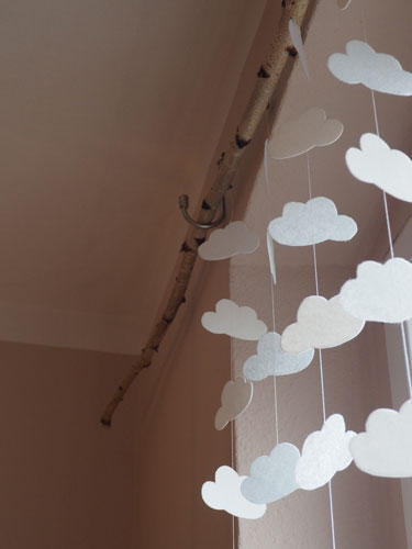 Wolkengirlande