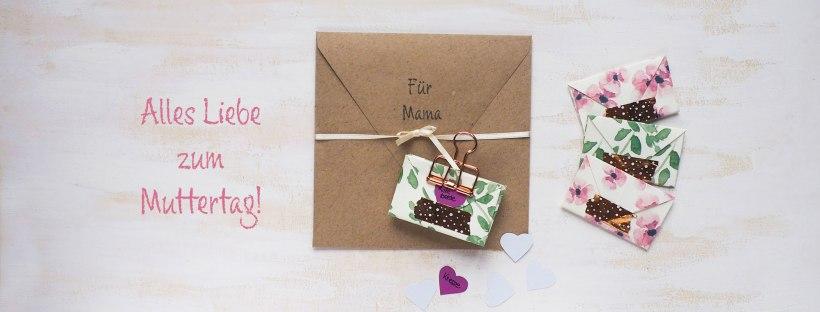 diy zum muttertag kleine briefchen mit inhalt handgemacht von sarah h. Black Bedroom Furniture Sets. Home Design Ideas